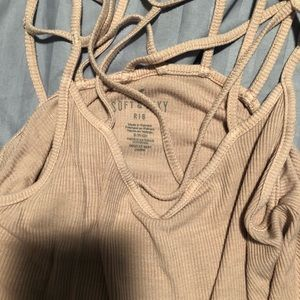 American Eagle Outfitters Tops - American Eagle Outfitters Pink Tank